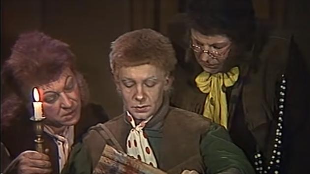 Sovětská adaptace Pána prstenů. Film nazvaný Khranitelivznikl v roce 1991.