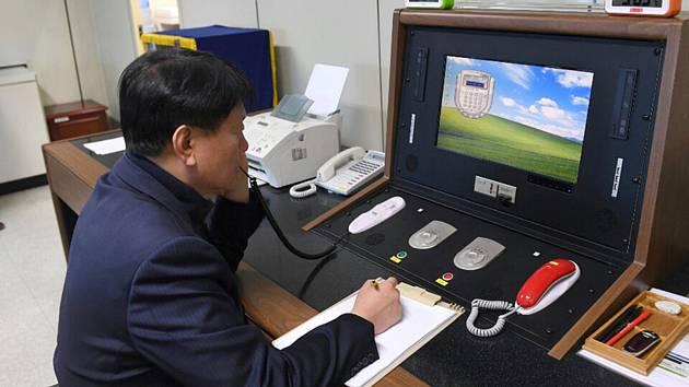 Jihokorejská horká linka s KLDR