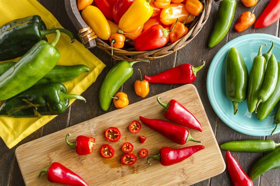 Které potraviny budou povinně české? Například čili papričky a paprika