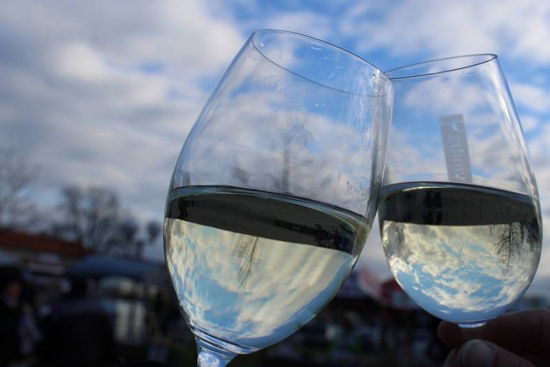 Sklenky s vínem