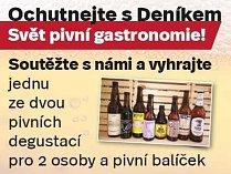 Ochutnejte s Deníkem Svět pivní gastronomie!