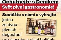Ochutnejte s Deníkem Svět pivní gastronomie