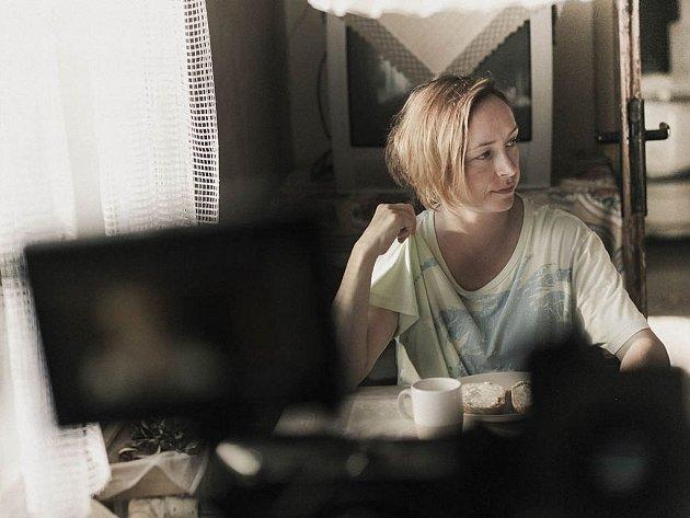 Tatiana Vilhelmová jako Maruna v Krobotově filmu Díra u Hanušovic
