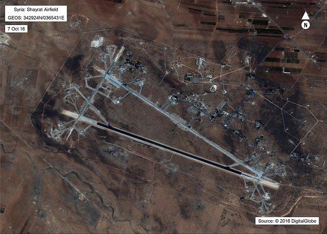 Spojené státy zaútočily na Sýrii