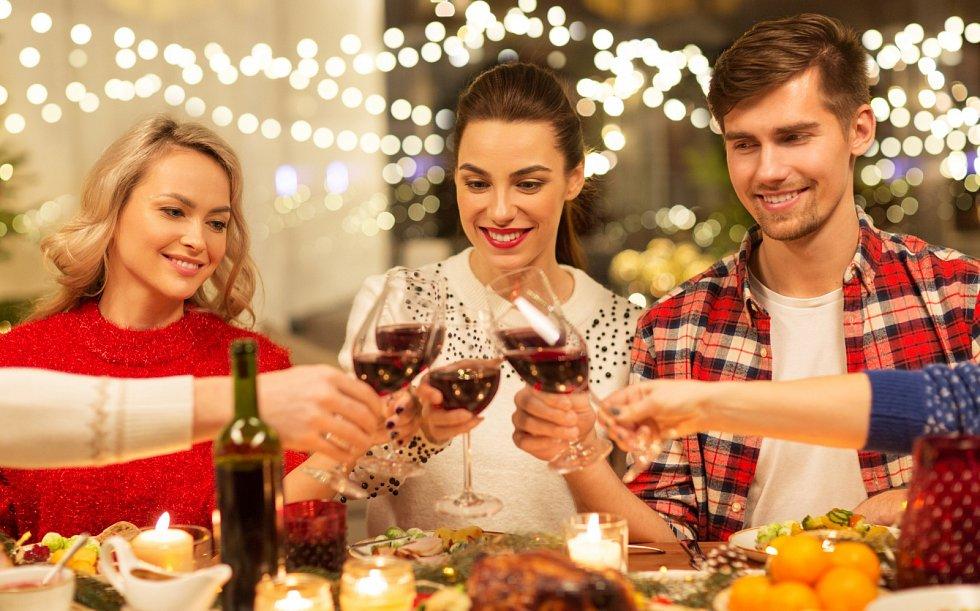 Jak nepřibrat o Vánocích? Omezovat se nemusíte, dejte si však mnohem menší porce.