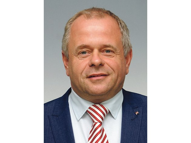 Petr Bajer, místostarosta Holic, předseda Strany soukromníků ČR a lídr strany v komunálních volbách v Holicích