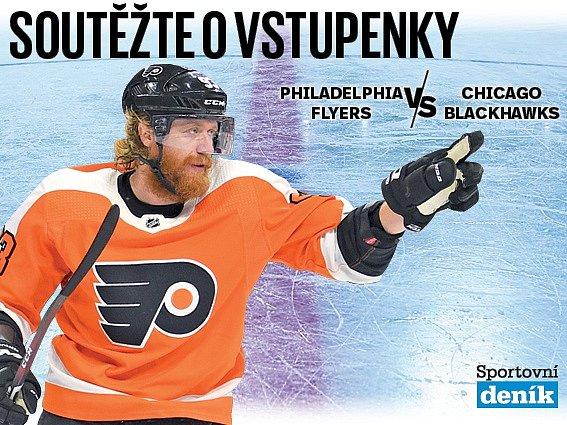 Soutěž o vstupenky na NHL v Praze.
