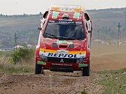 Mitsubishi Racing Lancer MRX 09 během testování v Maroku.