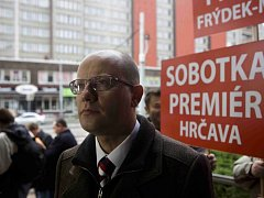 Ústřední výkonný výbor ČSSD zasedal 10. listopadu v Praze.