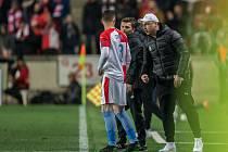 První utkání čtvrtfinále Evropské ligy mezi Slavií a Chelsea