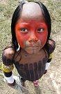 Brazilský Indián na Světovém sociálním fóru v Belemu.