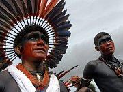 Indiáni na Světovém sociálním fóru v Belemu.