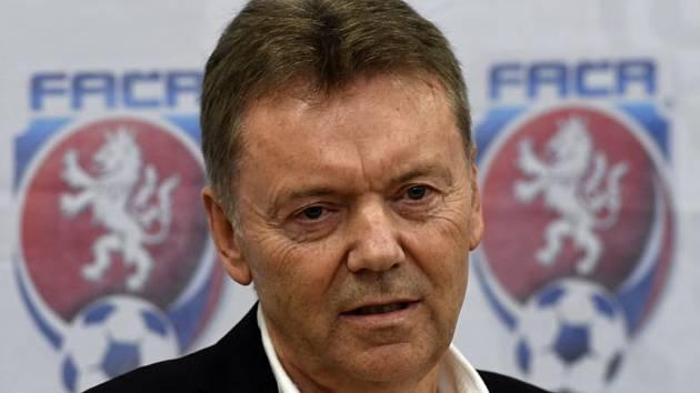 Místopředseda Fotbalové asociace ČR (FAČR) Roman Berbr (na archivním snímku z 8. května 2017).