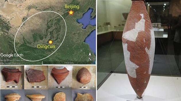 Podle archeologů znali staří Číňané minimálně dva způsoby přípravy alkoholických nápojů. Ty pak skladovali v amforách