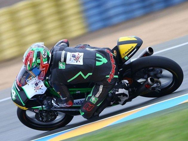 Jakub Kornfeil v GP Francie.
