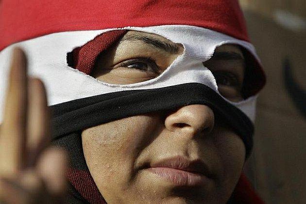 """V ulicích Káhiry se v úterý shromáždilo přes 200 000 lidí, aby se zúčastnili """"milionového pochodu"""", jehož cílem je svržení vlády prezidenta Husního Mubaraka."""