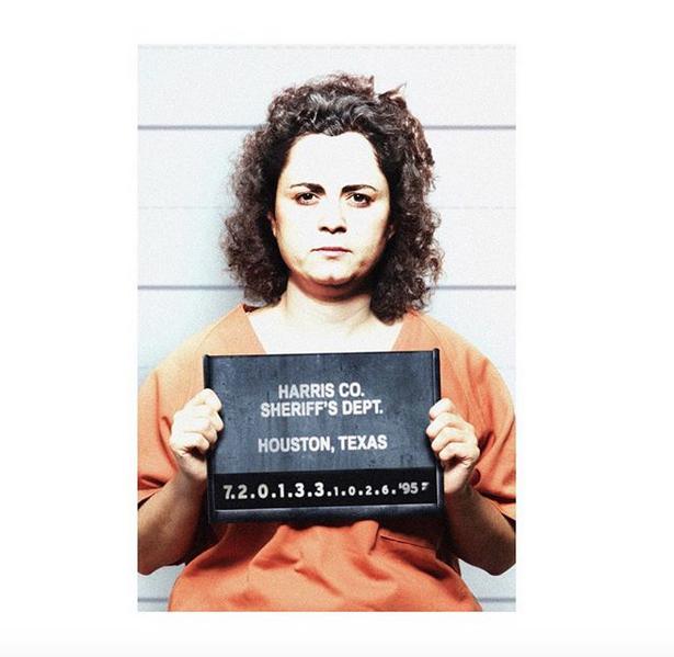 Yolanda Saldívarová na snímku z vyšetřovací vazby