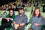 Dana Morávková a Petr Malásek na křestu videoklipu k písni Modlitba pro Martu