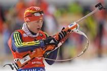 Ukrajinská biatlonistka Olga Abramovová.