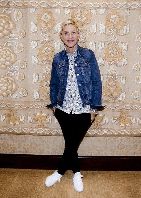 Moderátorka Ellen DeGeneresová