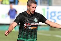Fotbalista Tomáš Pilík ještě v dresu Příbrami.