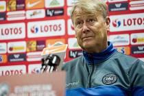 Dánský trenér Age Hareide.