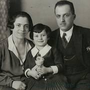 Anna Hydráková s rodiči