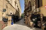 Čtvrť Borgo Vecchio v italském Palermu