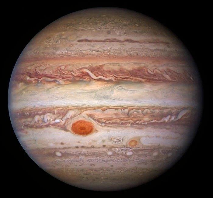 Jupiter ve viditelném světle