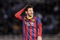 Lionel Messi postrčil fotbalovou Barcelonu do finále Copa del Rey.