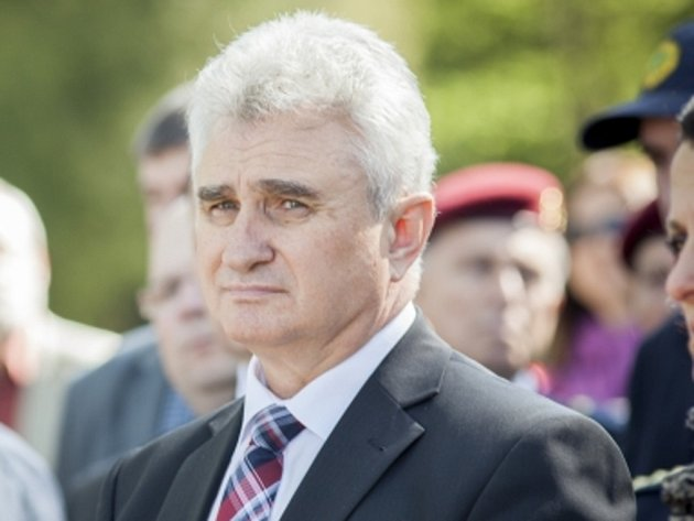 Předseda Senátu Milan Štěch (ČSSD).