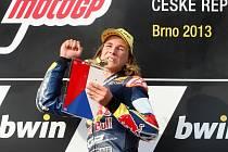 Motocyklista Karel Hanika.