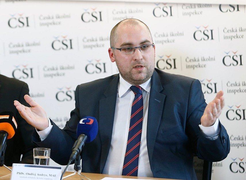 Náměstek ústředního školního inspektora Ondřej Andrys