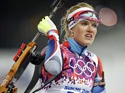 Třetí místo. Jaroslav Soukup se v Soči postaral o historicky první medaili pro český biatlon z olympijských her.