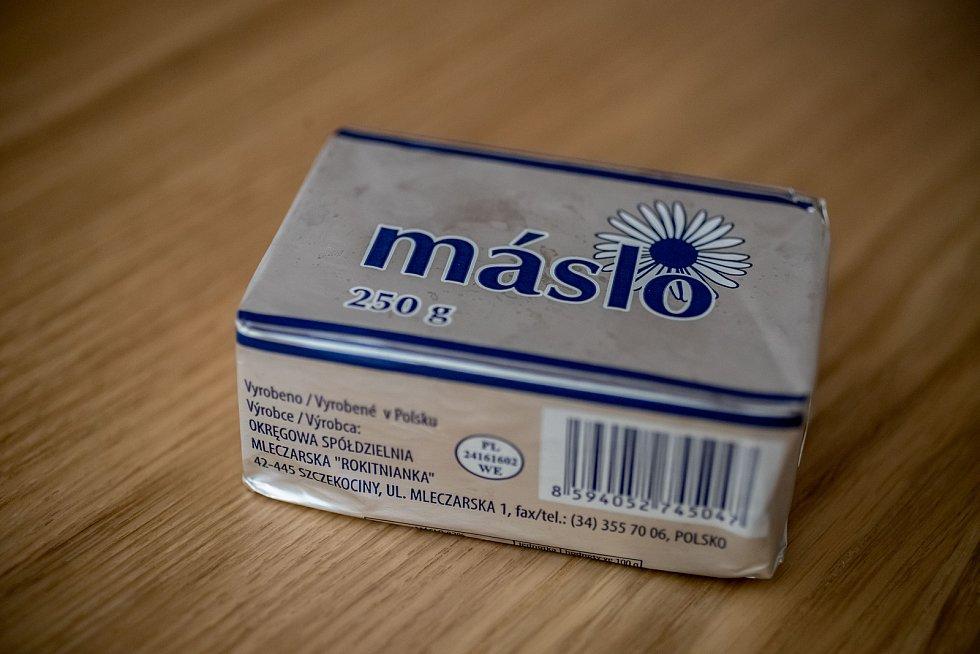Ilustrační snímek másla.