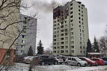 Výbuch plynu v panelovém domě v Prešově