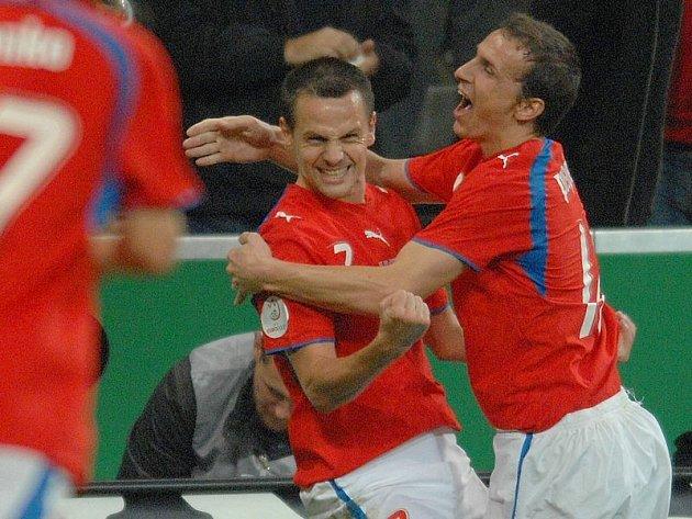 Češi vybojovali postup na Euro v Německu.