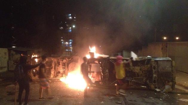 Protesty v obci San Félix