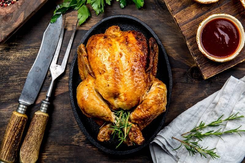 Připravit kuře s nádivkou není žádná věda