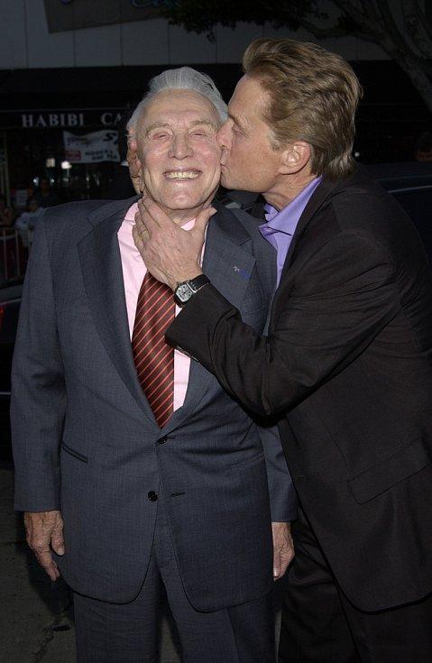 Kirk Douglas a Michael Douglas