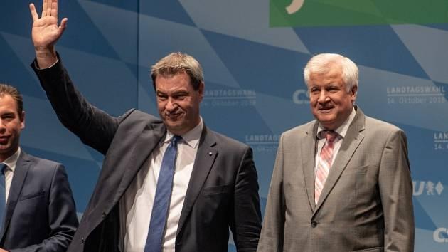 Markus Söder, Horst Seehofer