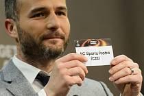 Sparta narazí na Lazio. Rozhodl o tom los v podání Alexandera Freie