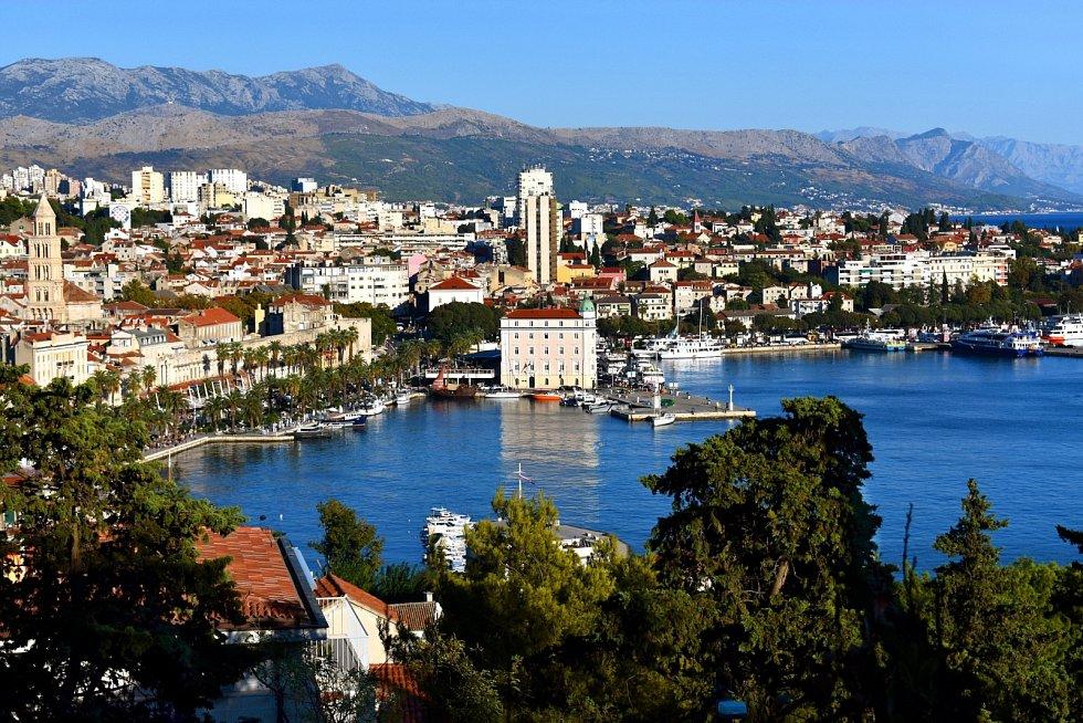 Dovolená, Chorvatsko, Split.
