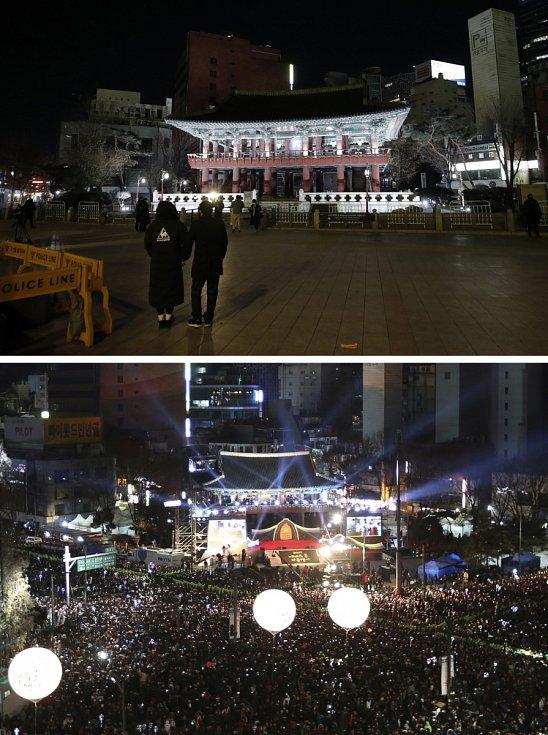 Mezi země, které letos oslavy příchodu nového roku výrazně omezily, patří i Jižní Korea.