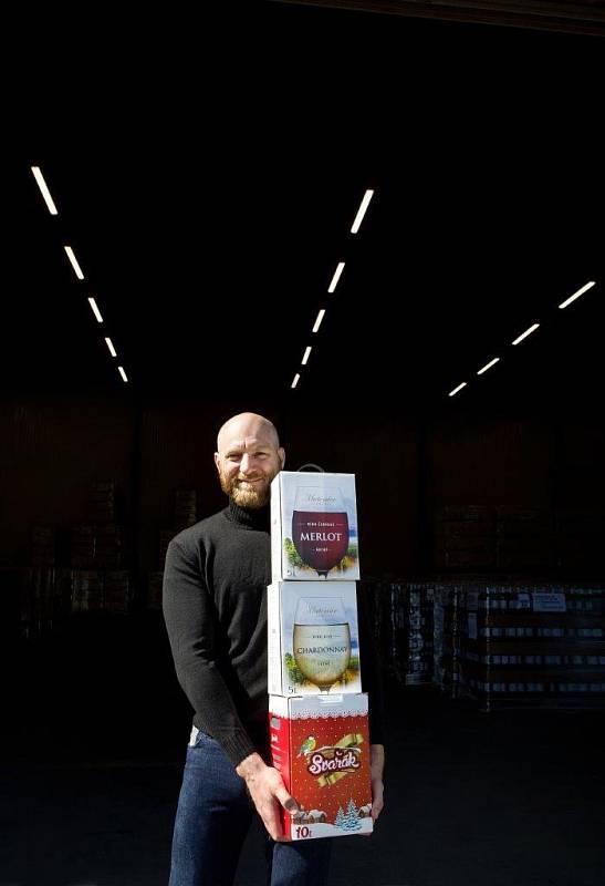 Majitel vinařství Tomáš Šupa