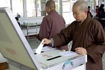 Na Tchaj-wanu se uskutečnily volby prezidenta.