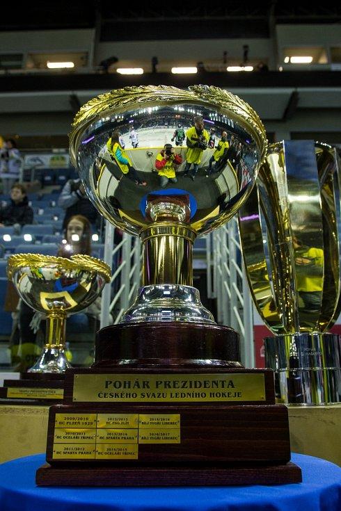 Prezidentský pohár pro vítěze základní části...