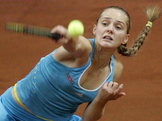 Anna Čakvetadzeová porazila Američanku Kingovou a získala pro Rusko první bod.