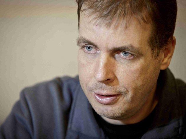 Petr Dvořák, letecký meteorolog a zároveň tiskový mluvčí ČHMÚ