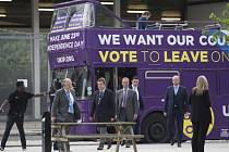Průzkumy veřejného mínění v Británii naznačují, že setrvání země v Evropské unii podporují spíše obyvatelé Skotska a Severního Irska než Angličané a Velšané. Ilustrační foto.